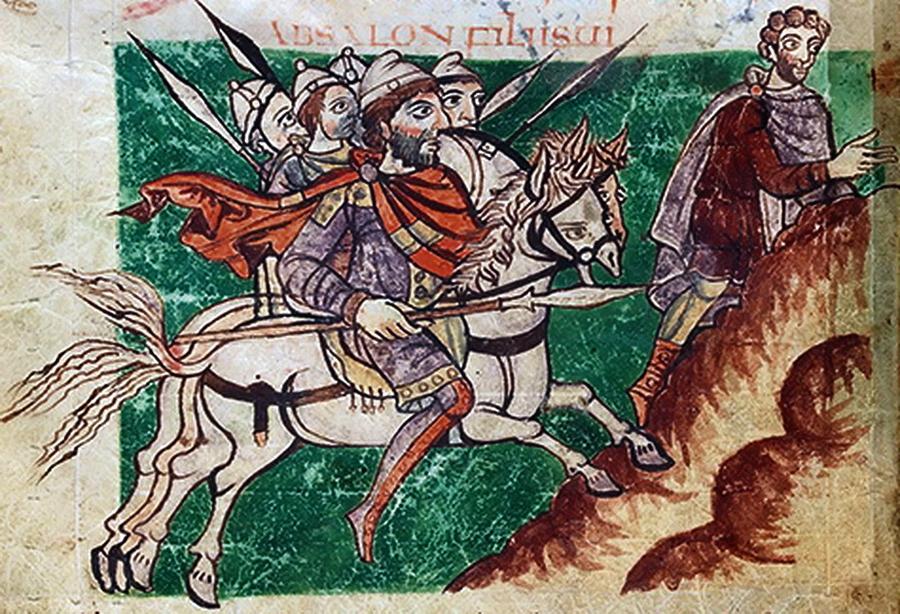 Кавалерия франков - Главная битва христианской Европы | Warspot.ru