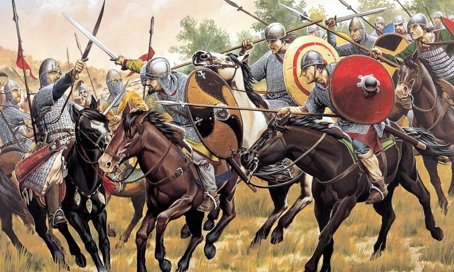 Кавалерия франков атакует (реконструкция) - Главная битва христианской Европы | Warspot.ru