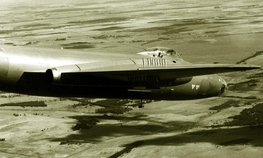«Канберра» 12-й эскадрильи ВВС ЮАР над Анголой