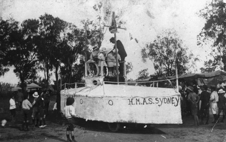 Детская игровая площадка «Крейсер Sydney». Штат Квинсленд, 1915 год slq.qld.gov.au - Победитель «корсаров Кайзера»   Warspot.ru