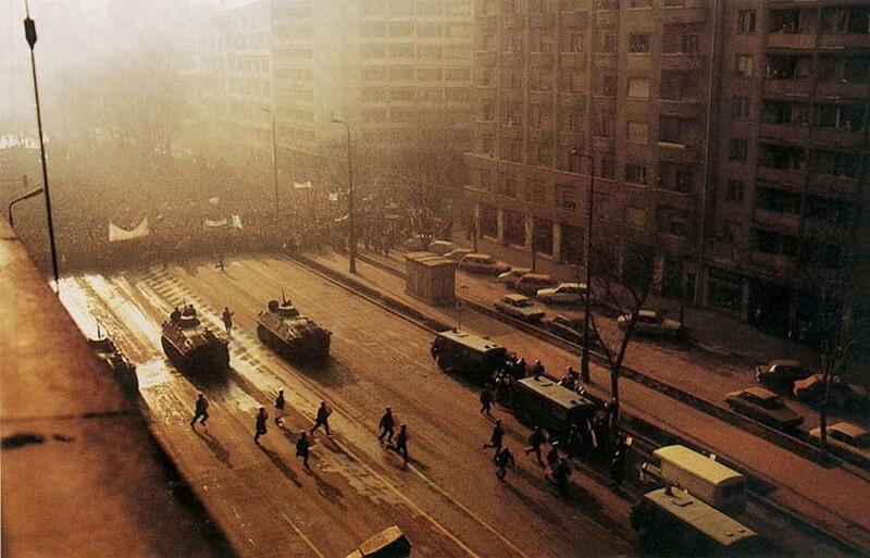 Падение Кондукэтора Холодная война,Румыния,xx век