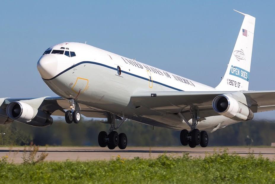 Американский самолёт-разведчик OC-135B, действовавший в рамках Договора об открытом небе defensenews.com - США закрывают небо для шпионов   Warspot.ru