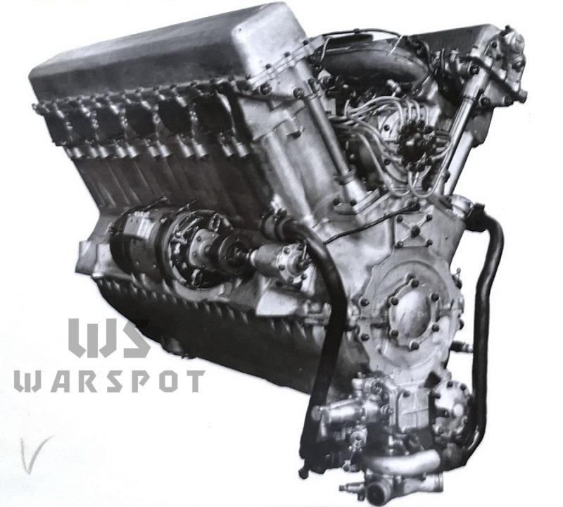 Двигатель В-2 Э4С, вид со стороны генератора - Сердце «тридцатьчетвёрки» на тракторе  | Warspot.ru