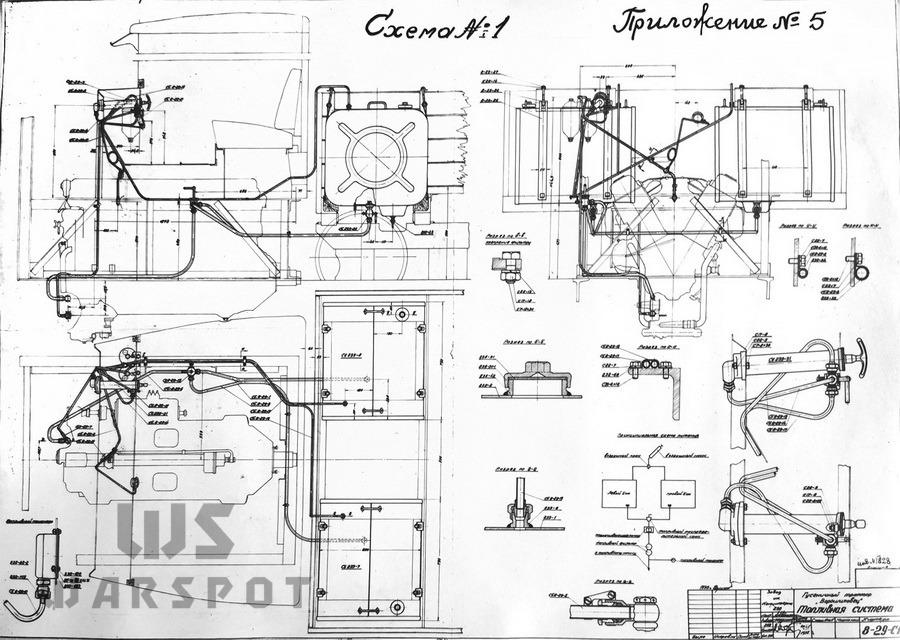 Топливная система трактора «Ворошиловец» - Сердце «тридцатьчетвёрки» на тракторе  | Warspot.ru
