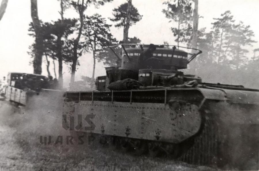 Буксировка танка Т-35 по песку - Сердце «тридцатьчетвёрки» на тракторе  | Warspot.ru