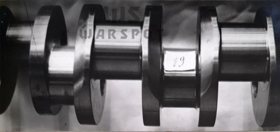 После испытаний рабочая поверхность 4-й и 5-й коренных шеек коленвала оставалась в хорошем состоянии - Сердце «тридцатьчетвёрки» на тракторе  | Warspot.ru