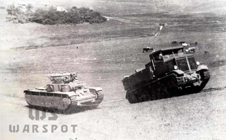 Подъём в 15° с Т-35, трактор буксует - Сердце «тридцатьчетвёрки» на тракторе  | Warspot.ru