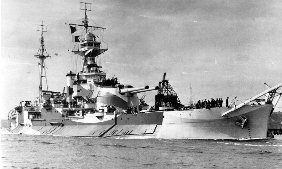Монитор «Эберкромби», 1943 год - Тяжёлая троица у берегов Сицилии и Калабрии | Warspot.ru