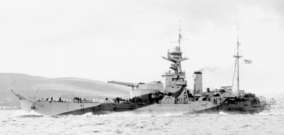 «Робертс» после ремонта повреждений, полученных в операции «Торч», июнь 1943 года - Тяжёлая троица у берегов Сицилии и Калабрии | Warspot.ru