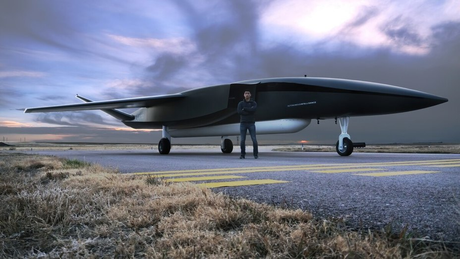 Беспилотник Ravn X и его создатель Джей Скайлус c4isrnet.com - Американцы будут запускать космические спутники с дронов? | Warspot.ru