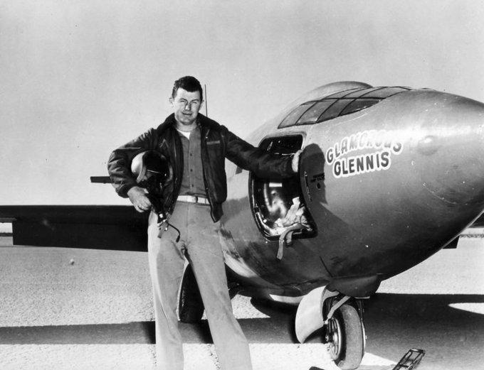 Чак Йегер и первый в мире сверхзвуковой самолёт Bell X-1 bbc.com - Умер первый человек, превысивший скорость звука | Warspot.ru