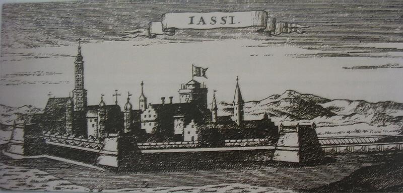 Яссы. Немецкая гравюра 1701 года. commons.wikimedia.org