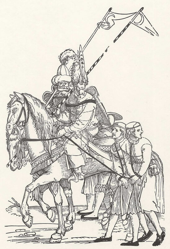 Турецкие воины, ведущие пленных. malarstwo-historia.blogspot.com