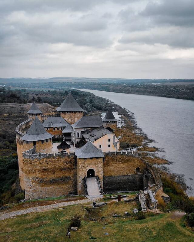 Хотинская крепость. Современный вид. facebook.com