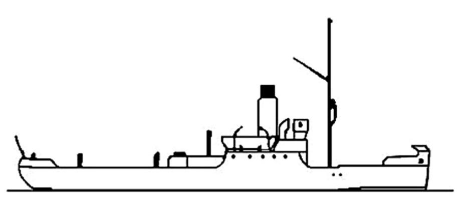 Канонерская лодка №4 — бывший ледокол №4 постройки 1905 года, участвовал в Гражданской войне как канонерка «Знамя Социализма». Водоизмещение — 750 т, скорость — до 10 узлов, два 76-мм орудия sovnavy-ww2.ho.ua - Керченско-Феодосийская операция на Азовском побережье: встречный бой у Аджимушкая | Warspot.ru