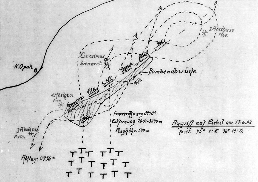 Удар 17 июня 1943 года. «Герасимус» в огне - «Действия авиации на коммуникациях противника… были неэффективны» | Warspot.ru