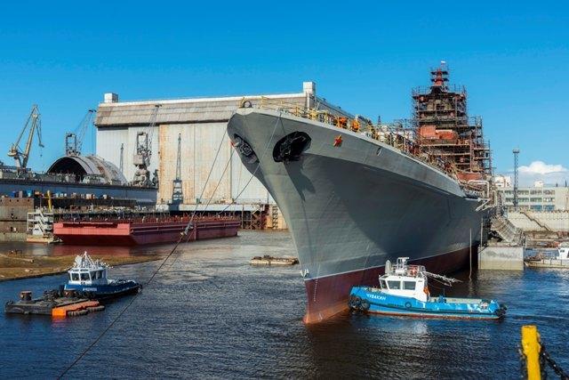 Атомный крейсер «Адмирал Нахимов» в процессе модернизации sevmash.ru - «Адмирал Нахимов» оживает | Warspot.ru