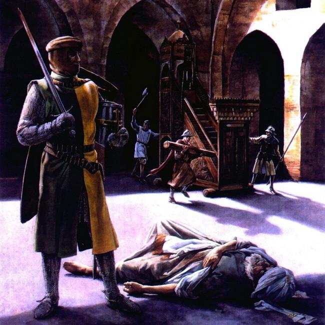 Тамплиеры захватывают Наблус вопреки перемирию, 1242 год - Дежавю для крестоносца | Warspot.ru