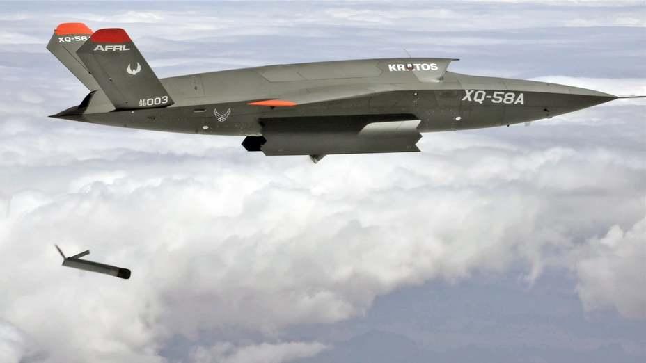 Пуск Altius-600 с XQ-58A Valkyrie thedrive.com - Беспилотник «отстрелялся» дроном | Warspot.ru