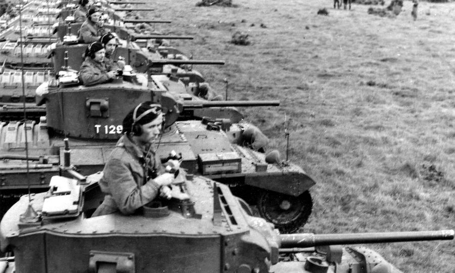 «Валентайны» получали польские соединения в составе вооружённых сил Великобритании - «Валентайн», британский принц пустыни | Warspot.ru