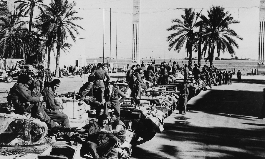 «Валентайны» в Триполи, 1942 год - «Валентайн», британский принц пустыни | Warspot.ru