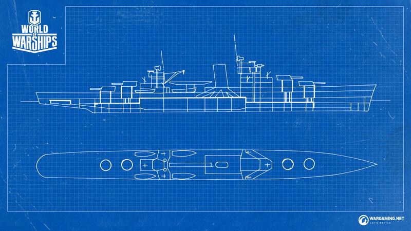 Наш проект крейсера Dallas основан на эскизном проекте № 389 схема 4C от 8 декабря 1934 года - Лёгкий крейсер проекта 389 Dallas | Warspot.ru
