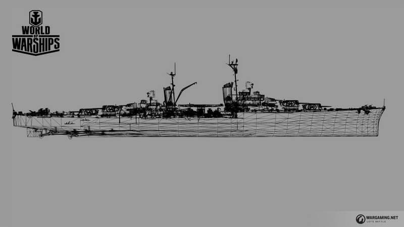  - Лёгкий крейсер проекта 389 Dallas | Warspot.ru