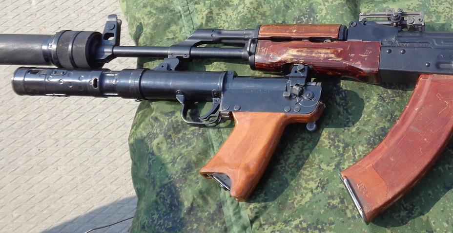 Гранатомёт 6Г16, установленный на автомат 6П4М ak-info.ru - Зловещая «Тишина»   Warspot.ru