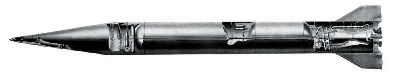 Общий вид баллистической ракеты Р-11ФМ (8А61ФМ) комплекса Д-1. РКК «Энергия» bastion-karpenko.ru - Гроза над океаном   Warspot.ru