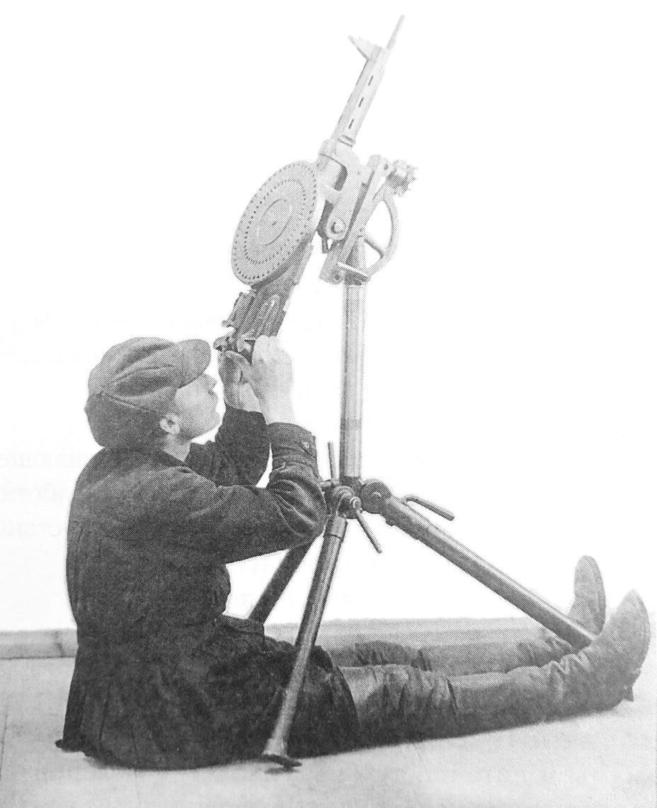 6,5-мм ручной-станковый пулемёт Фёдорова-Дегтярёва, 1922-1924 годы Энциклопедия ковровского оружия - Первый единый | Warspot.ru