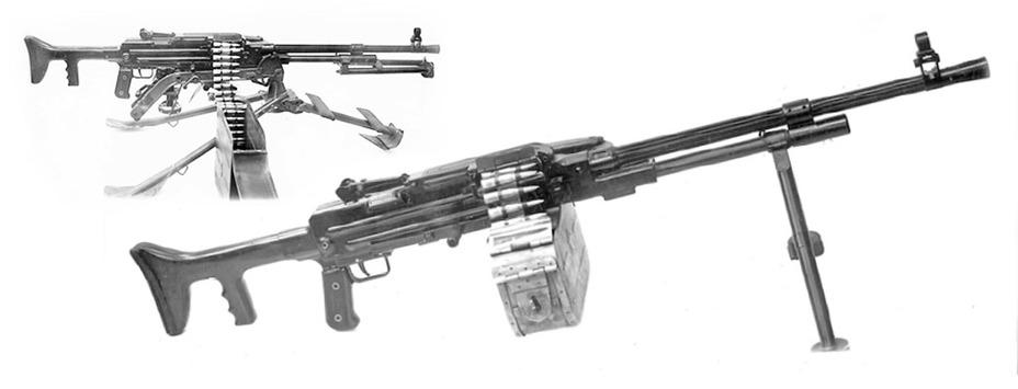 7,62-мм единый пулемёт Гаранина 2Б-П-45 Концерн «Калашников» - Первый единый | Warspot.ru