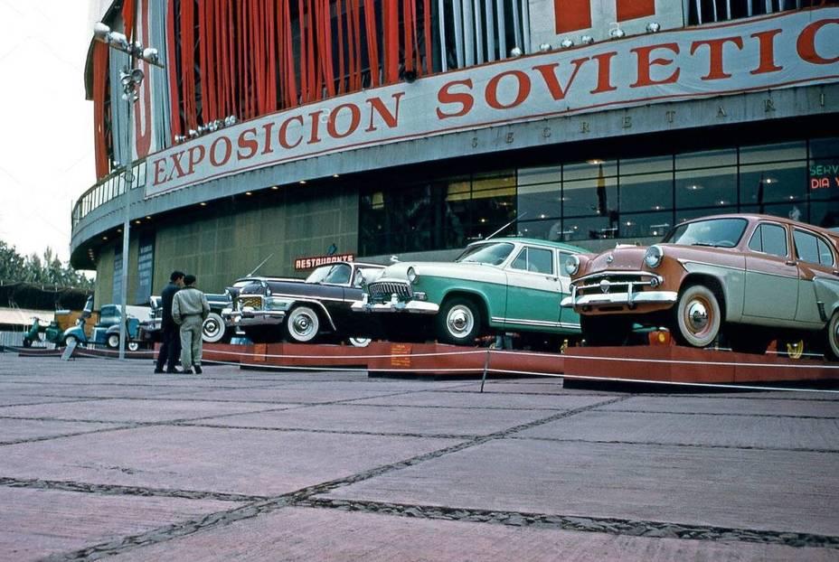 Выставка советских достижений в Мехико; 1959 год en.topwar.ru - Похитители «Луны»   Warspot.ru