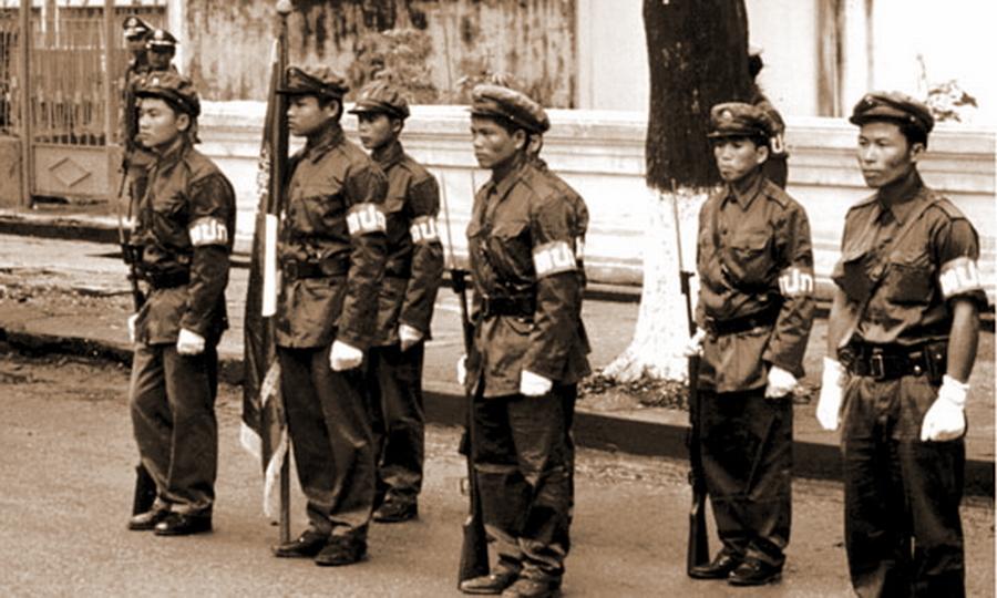 Бойцы Патет Лао, 1974 год - Схватка за незаметную страну | Warspot.ru