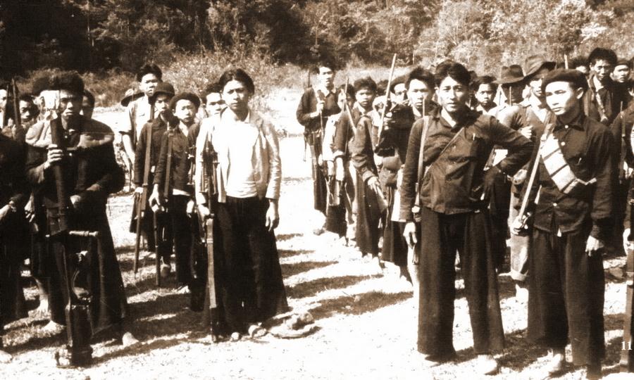 Бойцы-хмонги из антикоммунистических отрядов, 1961 год - Схватка за незаметную страну | Warspot.ru