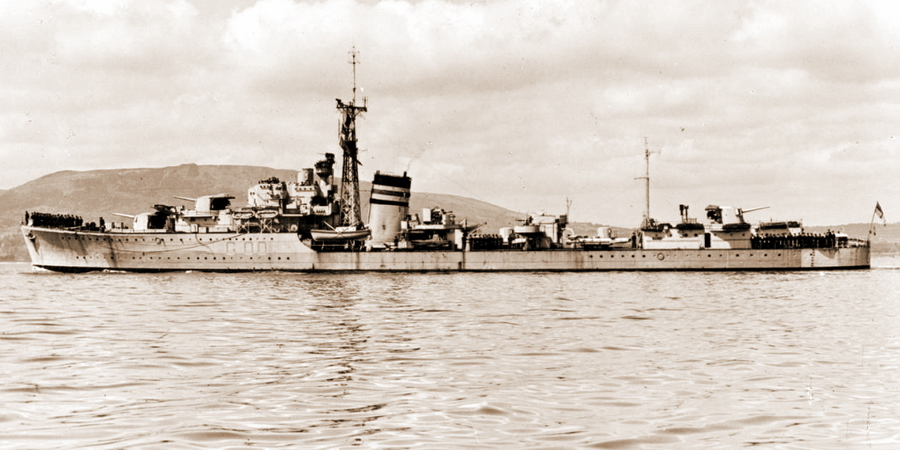 Британский эсминец «Джервис» - Триумф гауптмана Хельбига | Warspot.ru