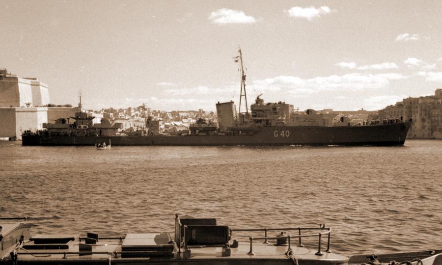 Британский эсминец «Лайвли» - Триумф гауптмана Хельбига | Warspot.ru