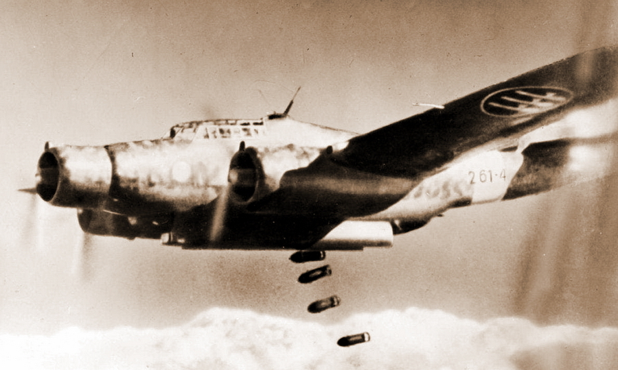 Итальянский бомбардировщик CANT Z.1007b - Триумф гауптмана Хельбига | Warspot.ru