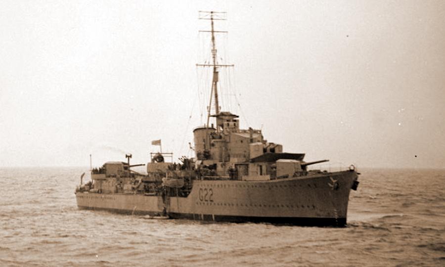 Британский эсминец «Джакал» - Триумф гауптмана Хельбига | Warspot.ru