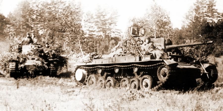 «Валентайны» Mk.IX 5-й гвардейской танковой армии - Не наказание и не панацея   Warspot.ru