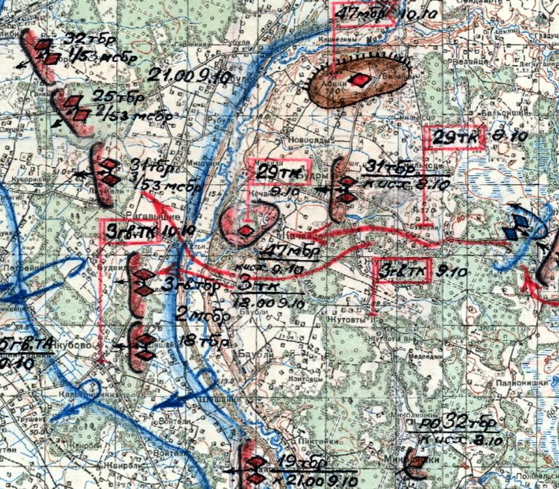 9 октября частям 3-го гв.тк ещё раз пришлось преодолевать водную преграду - Не наказание и не панацея   Warspot.ru