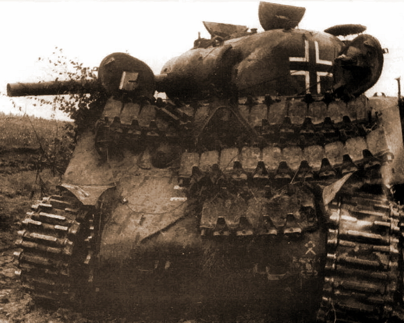 Захваченный немцами «Шерман». Прибалтика, октябрь 1944 года - Не наказание и не панацея   Warspot.ru